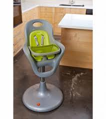 boon flair pedestal highchair grey green regarding boon high chair tray