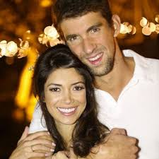 Michael Phelps and Nicole Johnson Are So Cute They Deserve a Gold Medal |  Michael phelps, Micheal phelps, Nicole johnson
