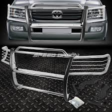 FOR 98-07 TOYOTA LAND CRUISER CHROME STAINLESS STEEL FRONT BUMPER ...