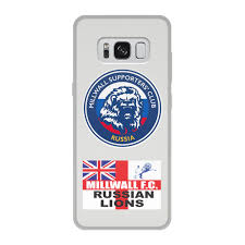 Чехол для Samsung Galaxy S8, объёмная печать <b>Millwall MSC</b> ...