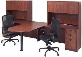 Office desk for 2 Shaped Modern Office 2person Desks