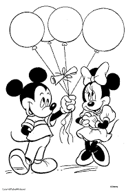 Mickey And Minnie Mouse Coloring Pages Wedding Coloring Pages Mickey