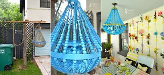 Diy Bead Chandelier Beaded Chandeliers Reveal Their Charm And Versatility