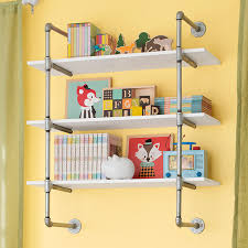 Pipe-Frame Wall Shelf