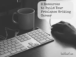 resources to build your lance writing career