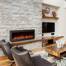 details about 50 electric fireplace wall mounted heater freestanding fireplace crystal stone