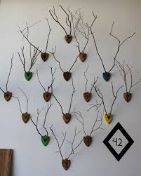 a collection of faux antlers