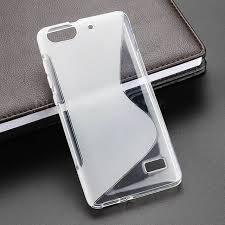 Anti Skiding S Line Gel TPU Slim Soft Case Back Cover For Huawei ...