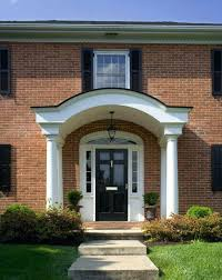 front door portico kitsFront Door Portico Kits Gardens Shows Popular Colors Traditional