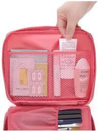 men women zipper makeup cosmetic bag make up organizer toiletry kits storage pouch travel beauty case