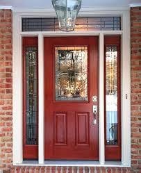 doors with glass metal door exterior fiberglass custom entry within inside front decorations 5