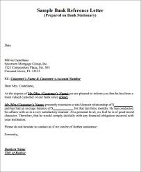 6 Bank Reference Letters Samples Format Examples Classy Letter From Bank Ibovjonathandedecker