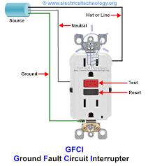 gfci wire diagram best ground fault circuit interrupter wiring Gfi Wiring Diagrams gfci ground fault circuit interrupter types working beauteous interrupter wiring gfci wiring diagrams