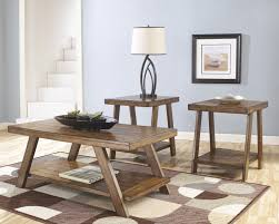 End Table And Coffee Table Set Wayfair Round Coffee Table Round Coffee Table In Chestnut Coffee