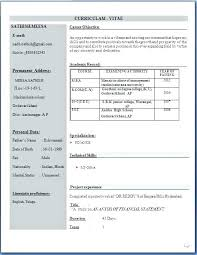Free Resume Download For Freshers Sample Format Finance Unique