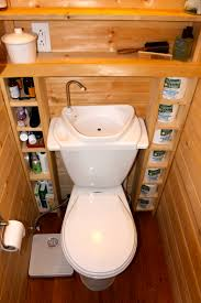 tiny house toilet. The Tiniest Room In Our Tiny House Has For A Porcelain Toilet Or Manufactured Y