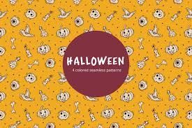 Halloween Patterns Interesting Decorating Ideas