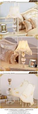 modern clear crystal e27 round glass table lamp base white desk lamp decorative table lighting for