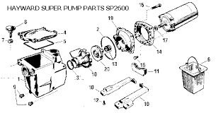replacing a pool pump motor hayward superpump schematic diagram