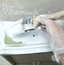 whitewashing furniture with color. How To Whitewash Furniture Good Tutorial With Recipe Chart Do You Paint Wood Paneling . Image Titled Whitewashing Color