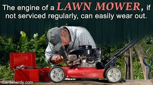lawn mower repair. lawn mower repair