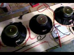 hook up speakers in series