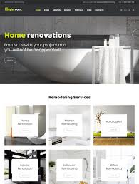 40 Of The Best Interior Design WordPress Themes Down Beauteous Home Interior Design Websites Remodelling