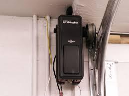 image of low headroom garage door photo