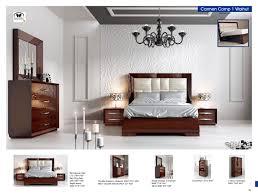 Modern Walnut Bedroom Furniture Carmen Walnut Modern Bedrooms Bedroom Furniture