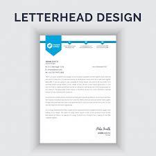 Making A Letter Head Corporate Letterhead Design Vector Premium Download