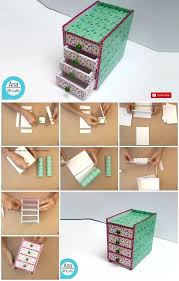how to make a mini desk organizer