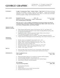 Example Of College Student Resume Awesome Format Of A Resume For Students Example Of A Resume For A College