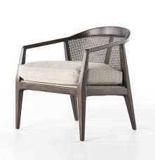 coastal beach furniture. alexandria midcentury modern woven back accent chair coastal beach furniture