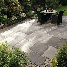 elegant patio stone flooring ideas an easy do it yourself patio design compared to save big