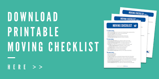 Moving Checklist Template Awesome The Ultimate Moving Checklist Free Moving Printables Kit