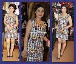 Ragini khanna in quirk box dress at gold awards