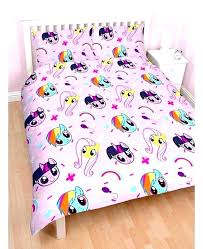 my little pony bed set reversible double duvet cover bedroom crib bedding co australia cr