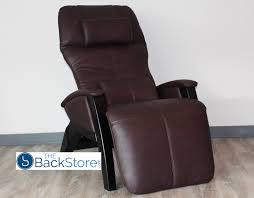 cozzia ag 6000 zero gravity massage chair recliner chocolate