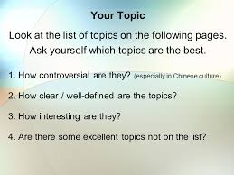 persuasive speaking tips ppt video online  look at the list of topics on the following pages