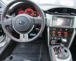 subaru brz interior. Interesting Brz 2014 Subaru BRX Steering Wheel With New Blue Center Logo To Brz Interior T