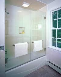 amusing bathtub shower doors glass frameless good looking tub enclosures in bathroom contemporary with bathtub enclosures