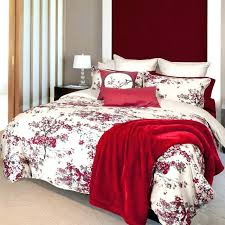 japanese cherry blossom bedding comforter set