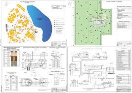 Очистные сооружения курсовые и дипломные проекты Чертежи РУ  Дипломная работа Проектирование станции очистки воды поселка