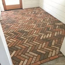 brick veneer flooring