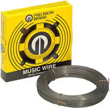 Can be used for spring winding, control linkages, guy wire, gage needles, armature binding, and much more. Amazon Com Precision Brand 21031 Music Wire Steel Alloy 0 031 In Industrial Scientific