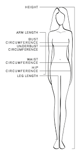 Female Neck Size Chart Size Table Women