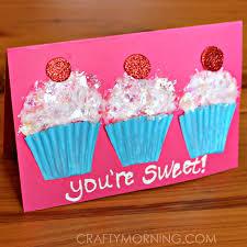 valentine s day card ideas for kids. Interesting Valentine Cupcakelinervalentinesdaycardideaforkids To Valentine S Day Card Ideas For Kids I
