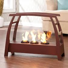 small portable outdoor fireplace