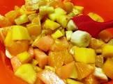 african tropical fruit salad