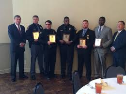 Tuscaloosa Exchange Club honors law enforcement officers of the year